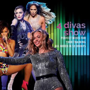 workout music lab mixes mix4 divas mix beyonce jlo rihanna madonna tracklist