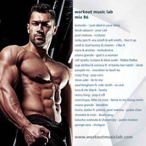 Workout Music Lab | mix 86