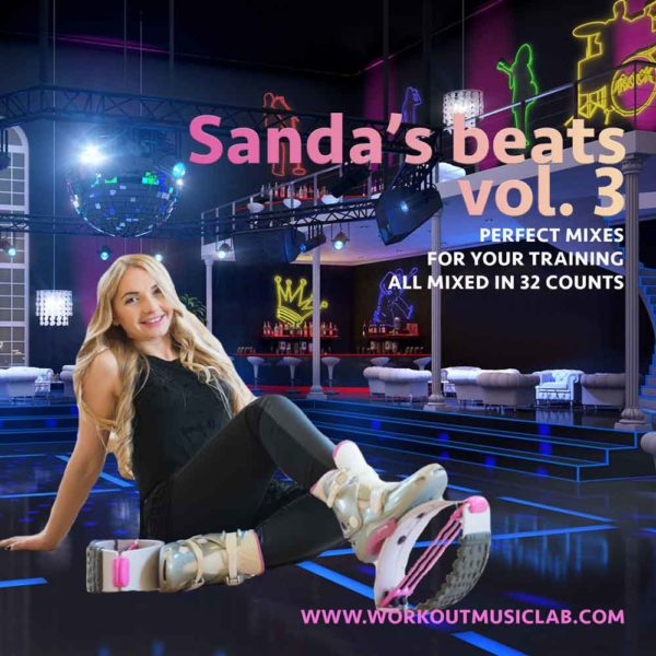 workout music lab mixes 32 count bpm aerobic fitness set kangoo step aerobic sanda briciu