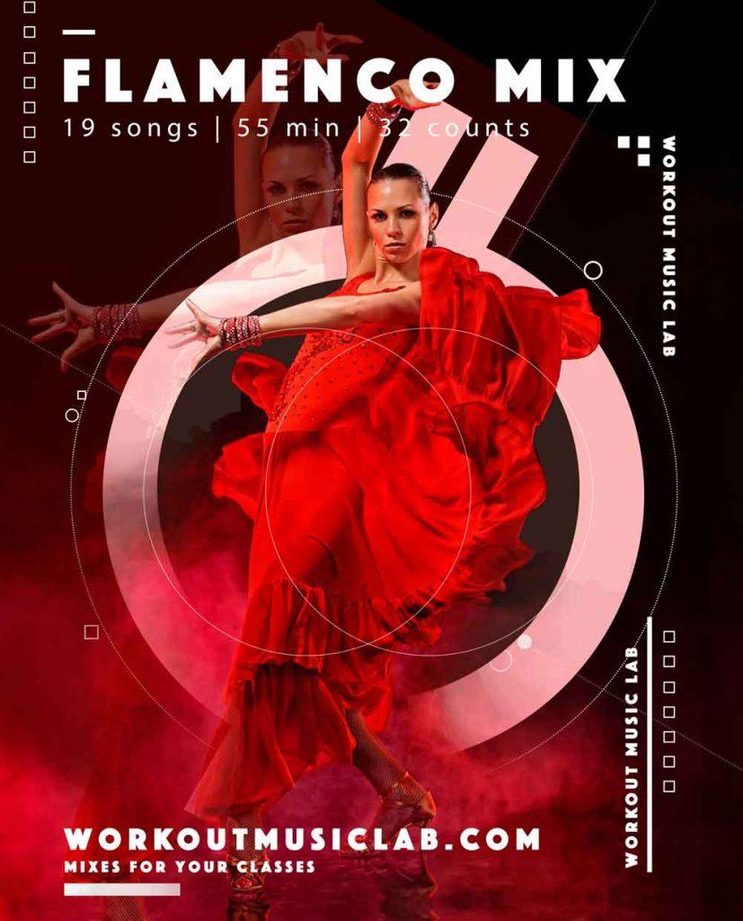 workout music lab fitness mix class flamenco