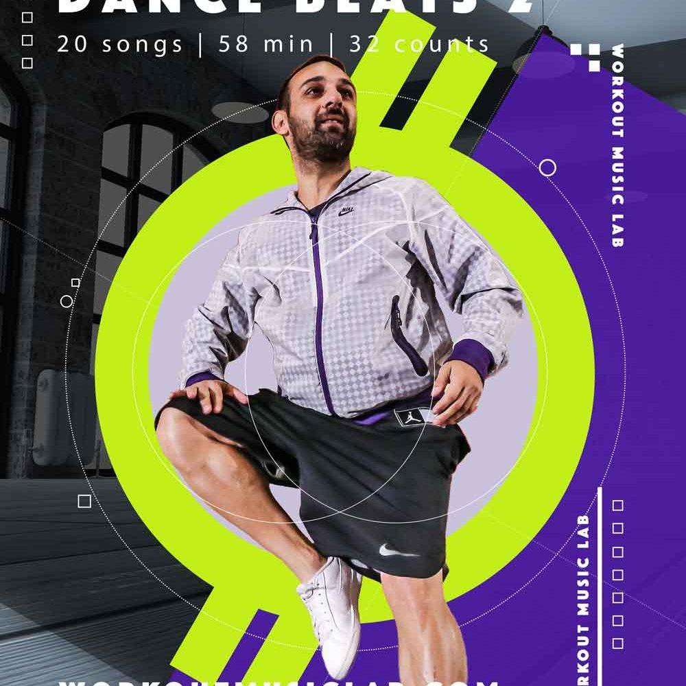 workout music lab fitness mix class christos gabriel step aerobic instructor greece