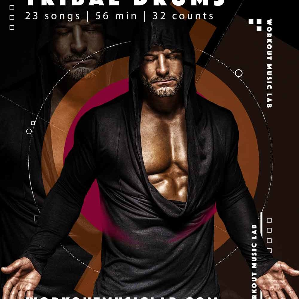 workout music lab mixes 32 count bpm aerobic fitness set kangoo step aerobic mix 92 edm techno tribal compilation
