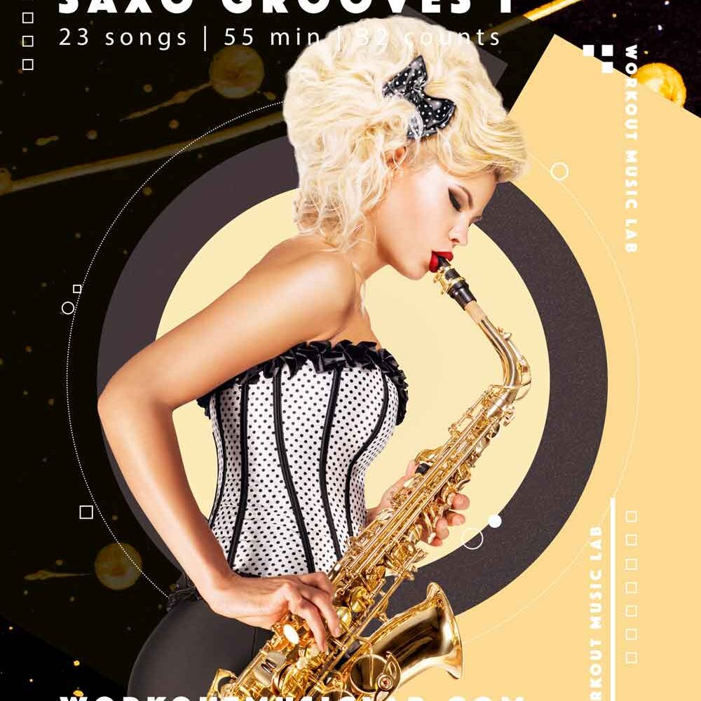 workout music lab fitness mix class hits dance pop charts saxophone